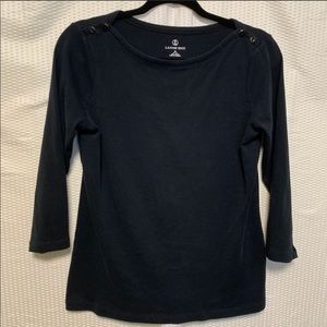 4 for $25 Lands' End long sleeve top size M